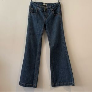 Free People Flare Leg Cute Jeans Size 29